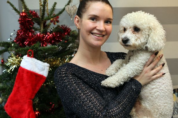 Family Reunited with Dog Thought Lost in Fire on Christmas