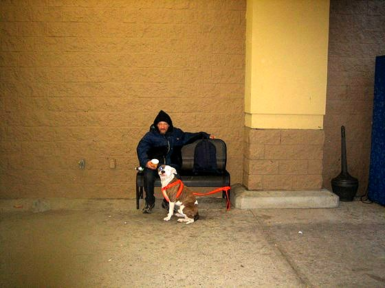 12.6.14 - Man Chooses Homelessness over Abandoning Dog