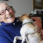 Kathleen Brown and Nigel. Photo Credit: Winnipeg Free Press