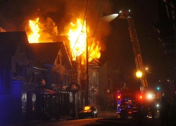 1.1.15 - Man Rushes Up to Third-Floor Apartment to Save Dog from Fire2