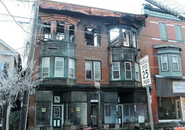 1.1.15 - Man Rushes Up to Third-Floor Apartment to Save Dog from Fire3