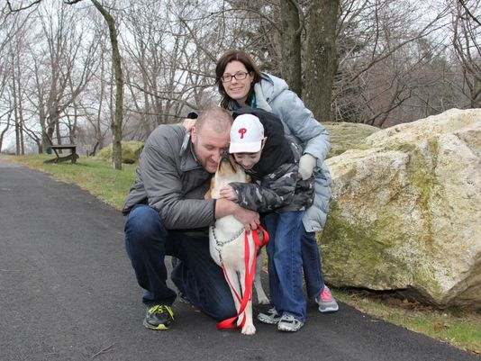 1.4.15 - Make-A-Wish and Seeing Eye give Little Boy Best Friend1
