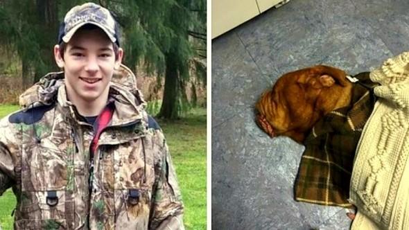 1.8.14 - Boy Carries Injured dog Half a Mile1