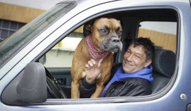 Man Leaves Dog in Car and Forgets Where He Parked