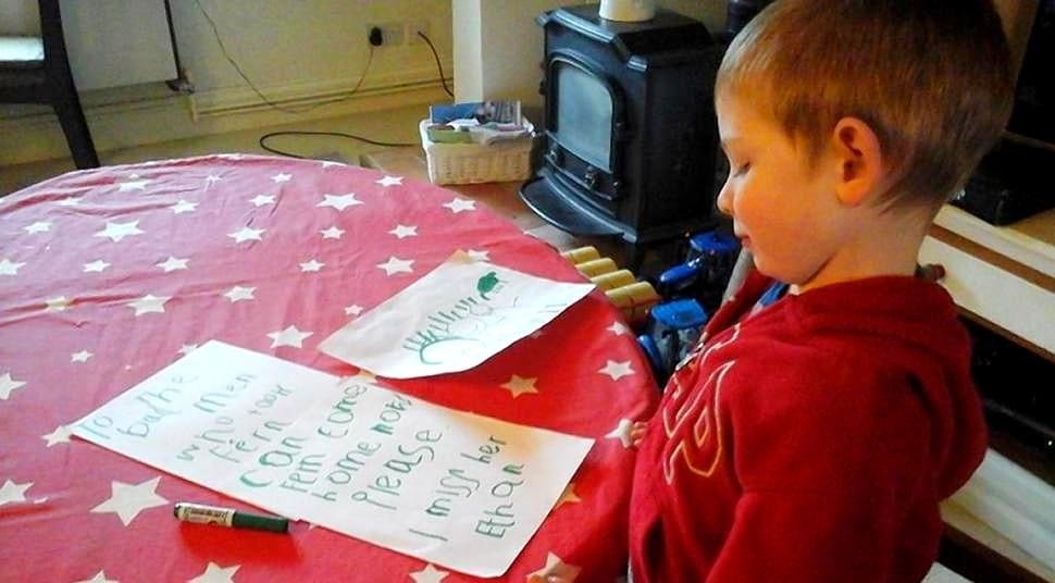 Four-Year-Old Pens Heartbreaking Letter to Thieves Who Stole His Dog