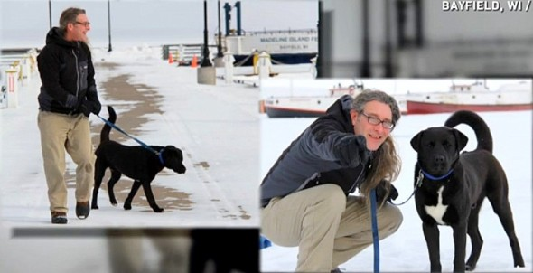 2.25.15 - Schoep's Dad Adopts a New Rescue Puppy2