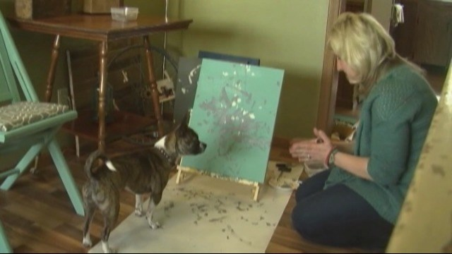 Dog in Minnesota has a Rare Talent for Art