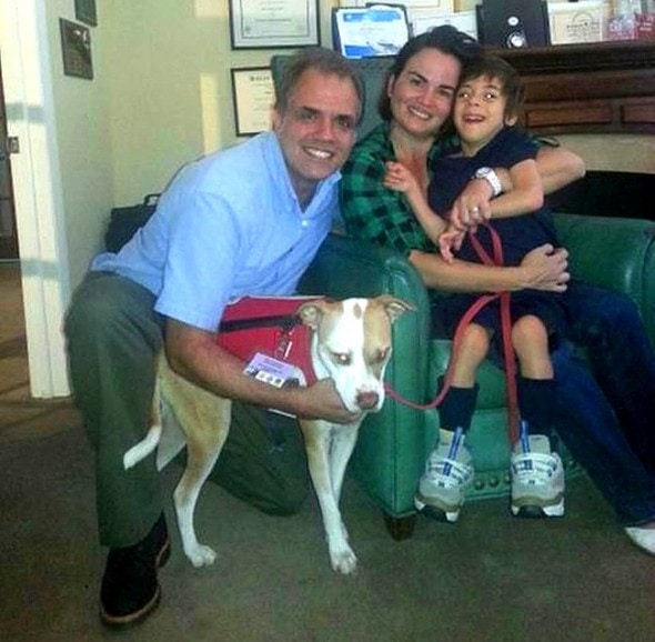 2.26.15 - Service Pit Bull Wins the Right to Attend Boy's School4