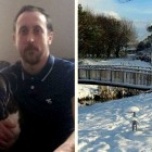 Heroic Man Smashes Through Icy Lake to Save Stranger's Dog