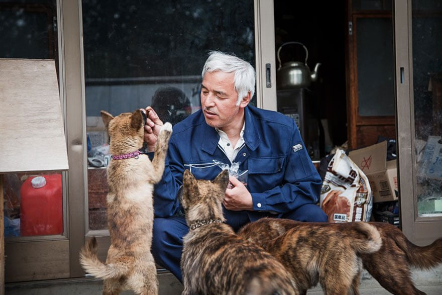 Fukushima Man Returns to Radioactive Town and Saves the Pets