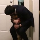 Dog's Reaction to Best Friend's Return Is Priceless