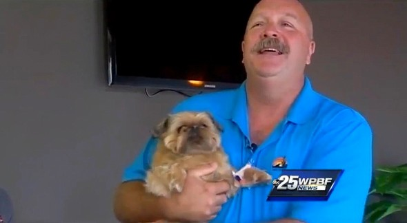 3.5.15 - Retired Cop Saves Drowned Dog After 10 Minutes of CPR1
