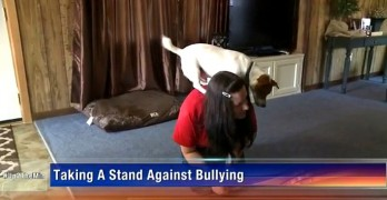 Teen's Dog Helps Her Overcome a Lifetime of Bullying
