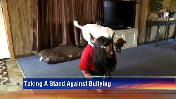 5.14.15 - Teen's Dog Helps Her Overcome a Lifetime of Bullying1