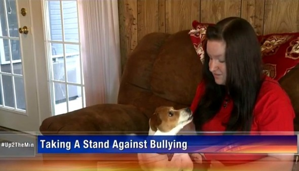5.14.15 - Teen's Dog Helps Her Overcome a Lifetime of Bullying3