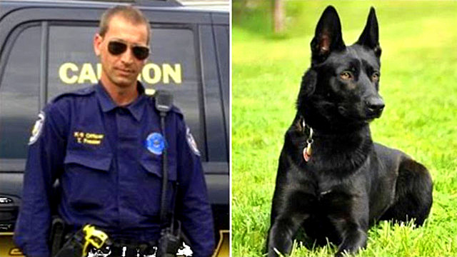 K-9 Saves Partner from Being Murdered in the Woods