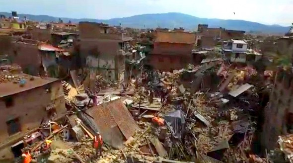 5.7.15 - Dog Feared to Be Dead in Nepal Earthquake Found Alive2
