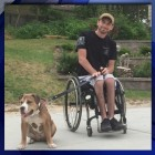Abused Dog Gets Forever Home with Disabled Marine