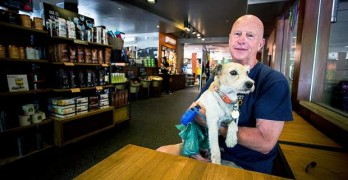 Man Files Complaint Against Coffee Shop Over Therapy Dog