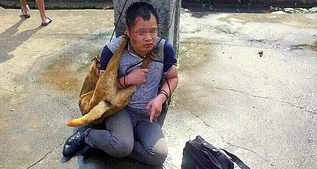 Chinese Dog Killers Beaten by Villagers for NINE Hours