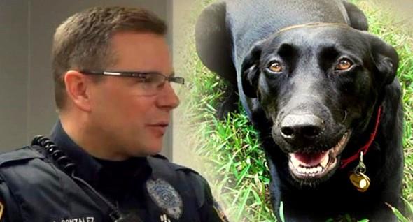 7.16.15 - Dog Alerts Officer & Saves Owner0