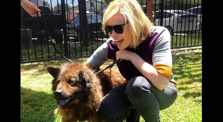 Chelsea Handler Adopts a New Dog