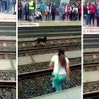 Woman Faces Jail Time for Heroically Saving Dog on Tracks