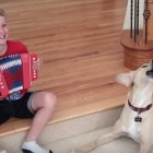 Everyone Knows Dogs LOVE Accordion Music!