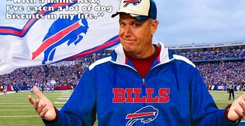 Rex Ryan Will Eat Dog Biscuits for Charity