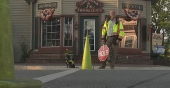 "Crossing Guard Dog ""Fired"" from Job"