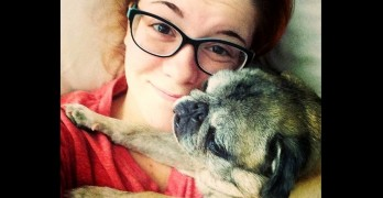 """Party Pug"" Helps Save Young Woman with Severe Depression"
