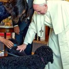 9.23.15 - Pope Meets Dogs During White House Visit0