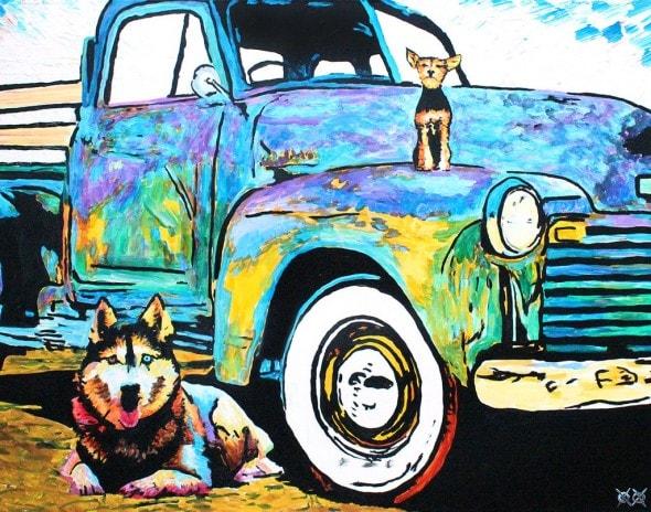10.25.15 - Blind Man Paints the Most Beautiful Dog Portraits13