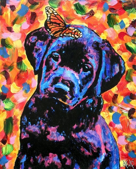 10.25.15 - Blind Man Paints the Most Beautiful Dog Portraits2
