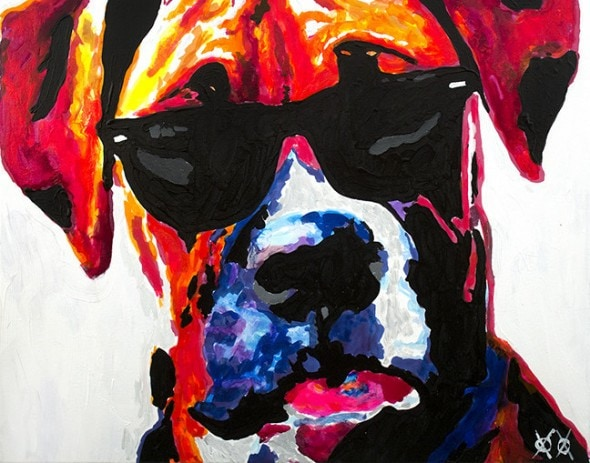 10.25.15 - Blind Man Paints the Most Beautiful Dog Portraits3