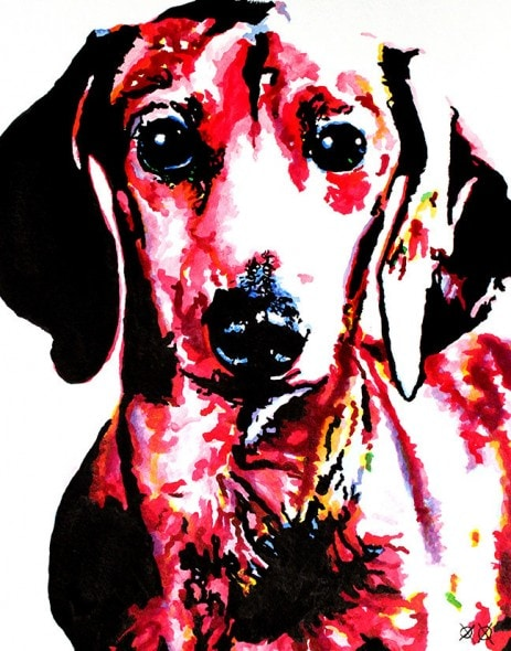 10.25.15 - Blind Man Paints the Most Beautiful Dog Portraits6
