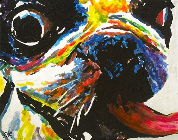10.25.15 - Blind Man Paints the Most Beautiful Dog Portraits8