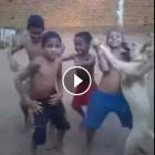 Kids Dance with Dog