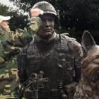 Veteran's Day Opening for Vietnam War Dog Memorial