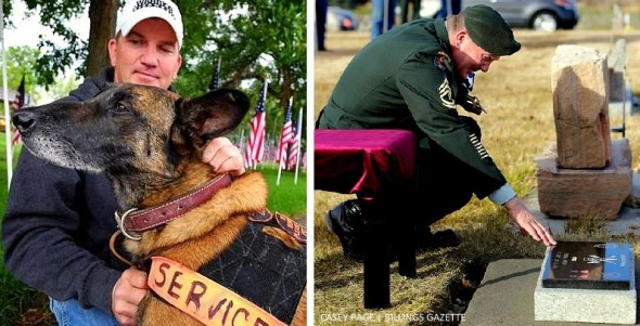 11.12.15 - Military Service Held for Veteran Dog Killed by Bicyclist1