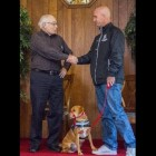 Canines for Vets Gives First Graduate to Grove City Vet