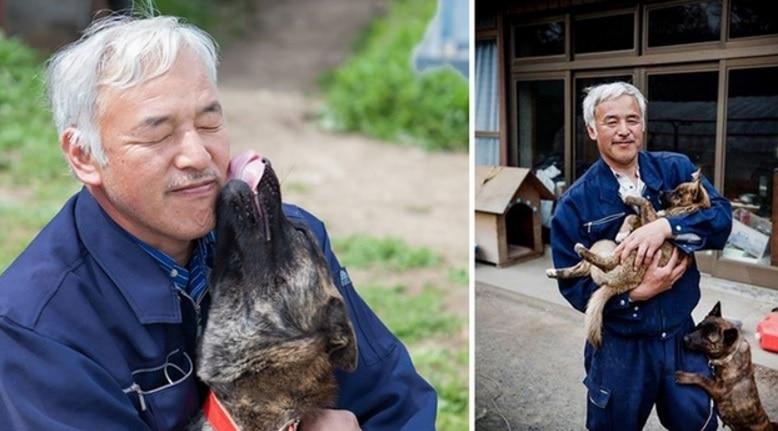 Man Risks Radiation Poisoning to Save Fukushima's Abandoned Animals