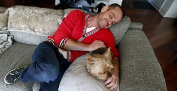 Doctor with HIV Says His Dog Saved His Life