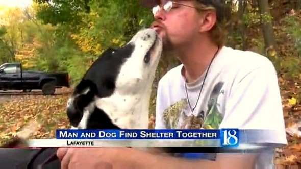11.5.15 - Homeless Man's Pleas to Help His Dog Are Answered5