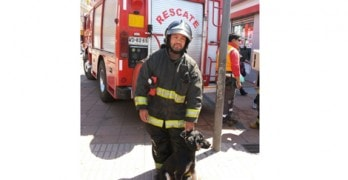Firefighters Rescue Dog and Eyewitness Adopts Pet
