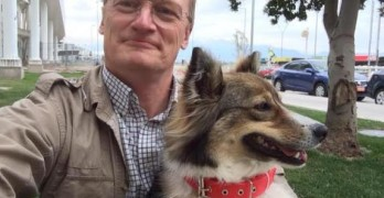 NASA Scientist Adopts Stray Dog While on Assignment Abroad