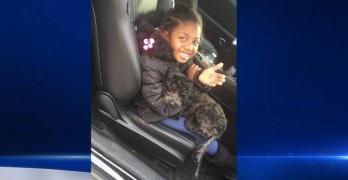 Dog Helps Brighten Little Girl's Birthday