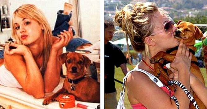 Kaley Cuoco Shares Touching Instagram Tribute to Beloved Dog Who Died