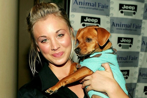 1.1.16 - Kaley Cuoco Shares Touching Instagram Tribute to Beloved Dog Who Died2