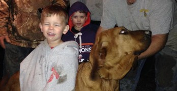 Hound Tracks Down Missing Three-Year-Old Boy